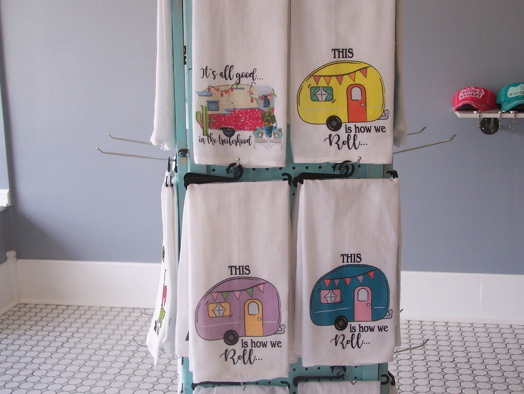 Camper Flour Sack Towels  (choose one)