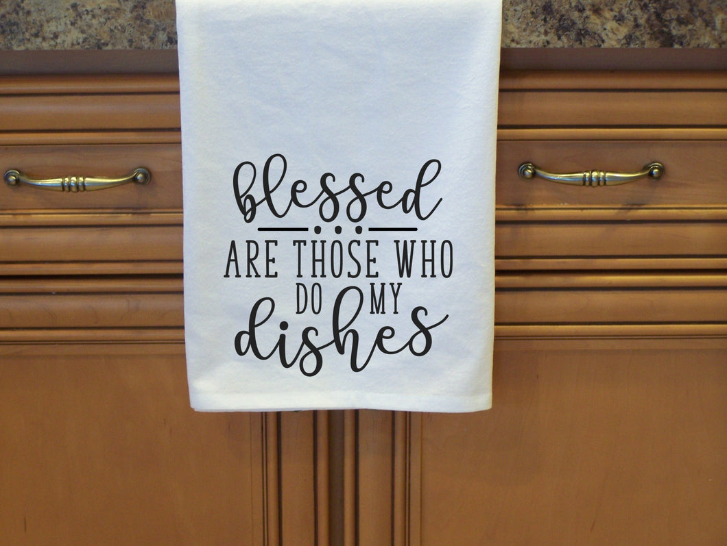 Blessed are those that do the dishes