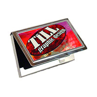 Business Card Metal Holder