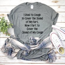 Load image into Gallery viewer, Coughing, Funny T-shirt