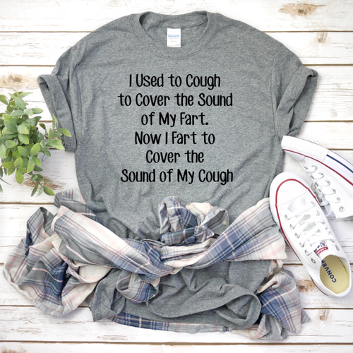 Coughing, Funny T-shirt