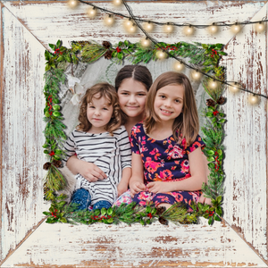 Photo Frame Christmas Ornament