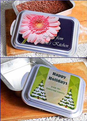 Personalized Cake Pan w/ Lid
