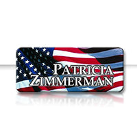 Name Badge - 1x3