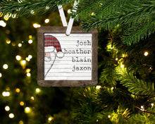 Load image into Gallery viewer, Personalized Christmas Ornament