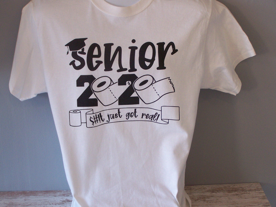 Senior 2020, $#!t  Got Real