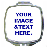 Load image into Gallery viewer, Personalized Compact Mirror, Personalized Bridesmaid Gift