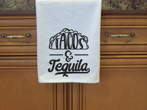Tacos and Tequila Flour Sack Towel