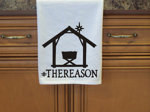 The Reason, Christmas Flour Sack Towel