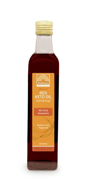 Absolute Red keto oil - MCT oil  astaxanthine