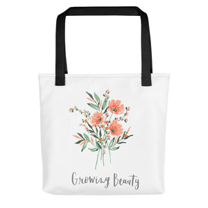 Growing Beauty Tote bag
