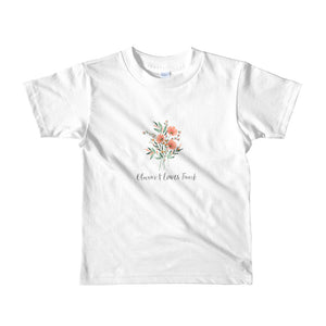 Kids 2-6 years Floral T-Shirt