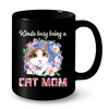 Image of Cat Mugs Being a Cat Mom