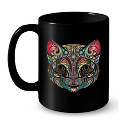 Cat Mugs Art