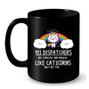 Image of Cat Mugs 911 Dispatchers