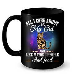 Cat Mugs All I Care About