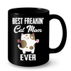 Image of Cat Mugs Best Freakin Cat Mom Ever