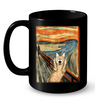 Image of Cat Mugs Art