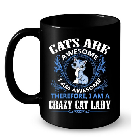 Cat Mugs Awesome
