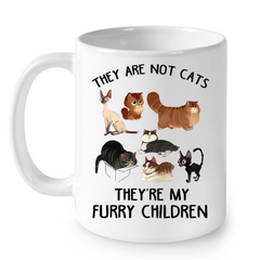Cat Mugs My Furry Children