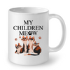 Image of Cat Mugs My Children Meow
