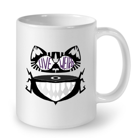 Cat Mugs Live Weird