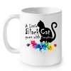 Image of Cat Mugs Little Black Cat
