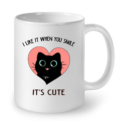 Cat Mugs It is Cute