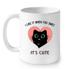 Image of Cat Mugs It is Cute