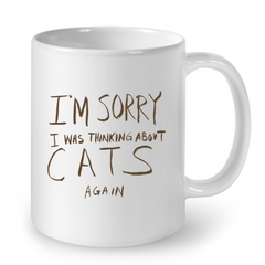 Cat Mugs I am Sorry (2)