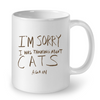 Image of Cat Mugs I am Sorry (2)