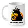 Image of Cat Mugs Halloween is coming