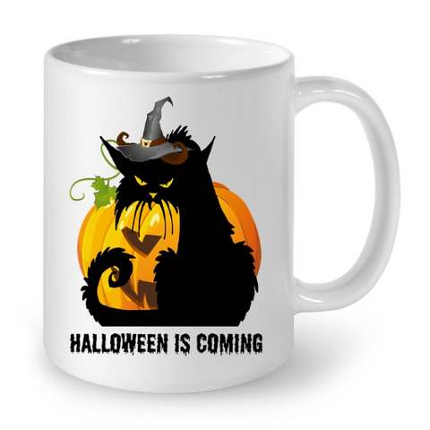 Cat Mugs Halloween is coming
