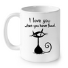 Image of Cat Mugs I Love You