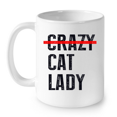 Cat Mugs Cat Lady