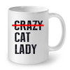 Image of Cat Mugs Cat Lady