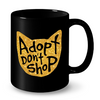 Image of Cat Mugs Adopt Don't Shop