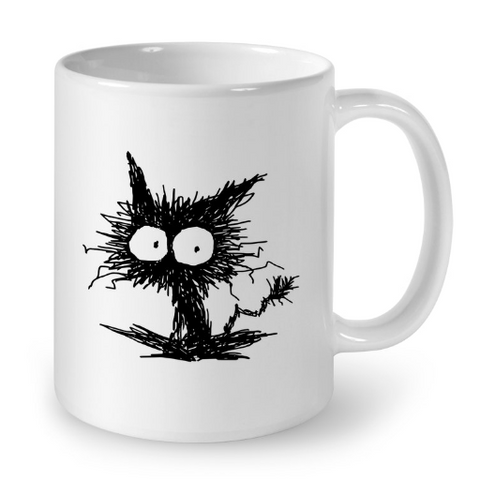 Cat Mugs Cat Art