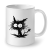 Image of Cat Mugs Cat Art