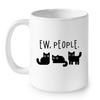 Image of Cat Mugs Ew People