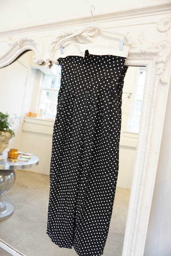 Sz. 8 Escada Dot Jumpsuit