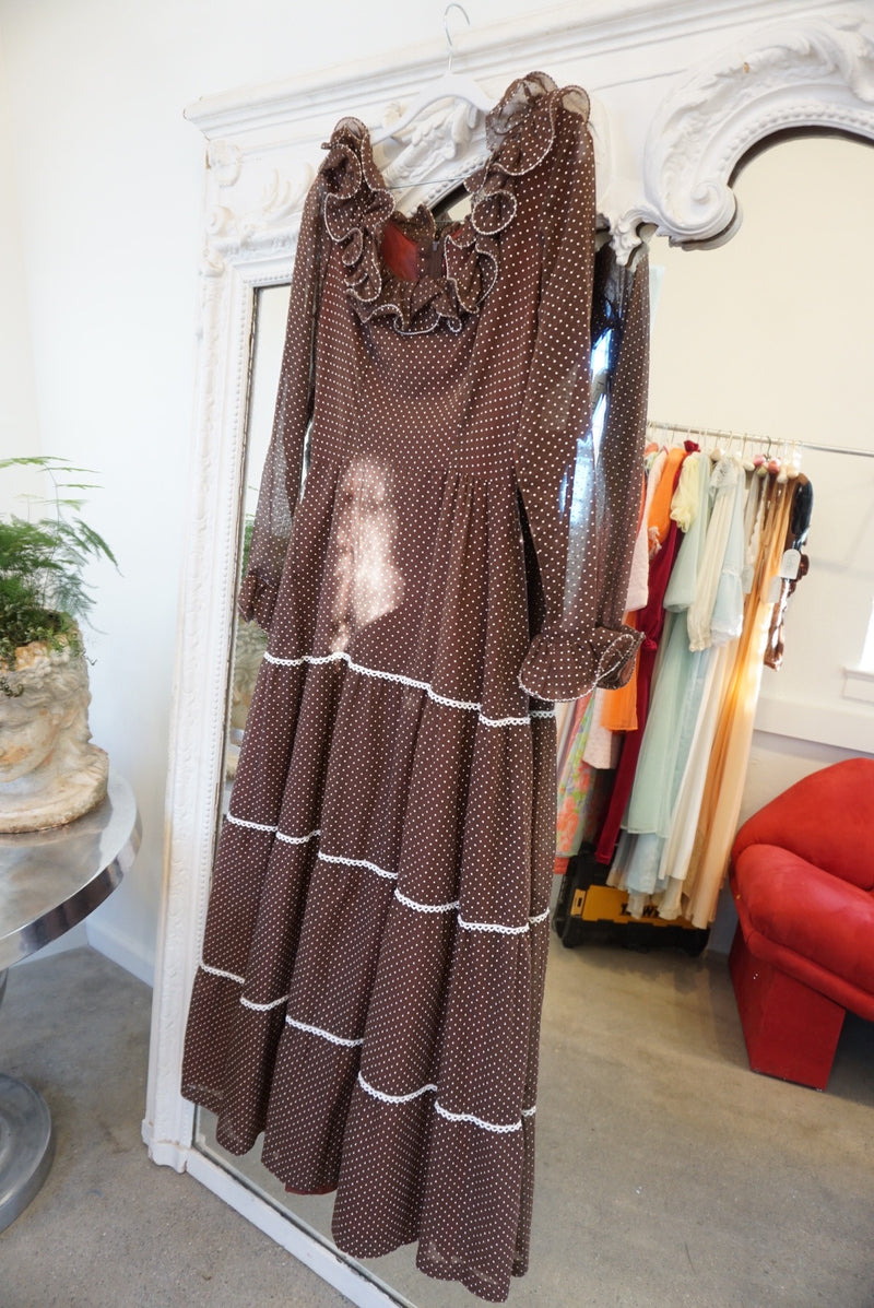 Sz. 10 Night Out on the Prairie Maxi Dress