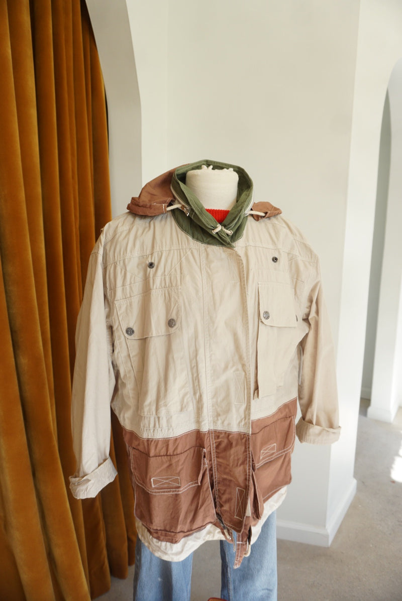 Medium 90's Bonjour Utility Jacket