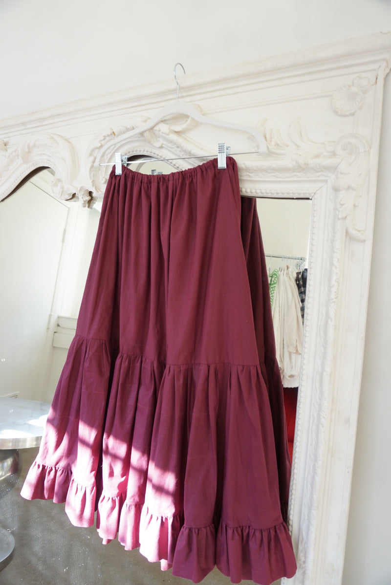Large Tiered Prairie Mulberry Skirt