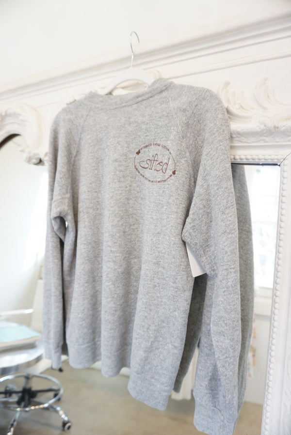 Small Sifted Butterfly Logo Sweatshirt