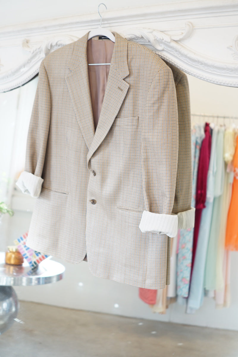 Extra Large Silk 90's Perfection Blazer