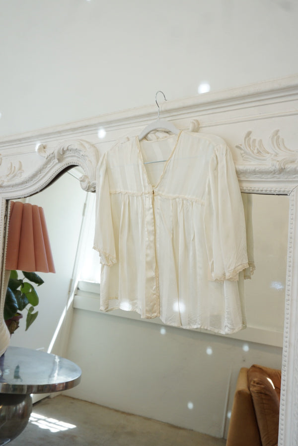 Silk Bed Jacket