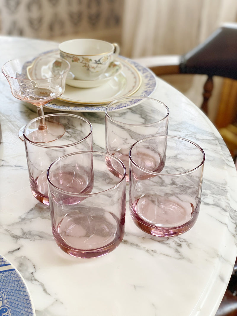 Lilac Whiskey Glass Set