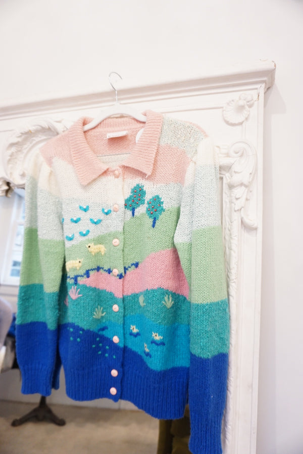 Medium Pastel Day Dream Cardi