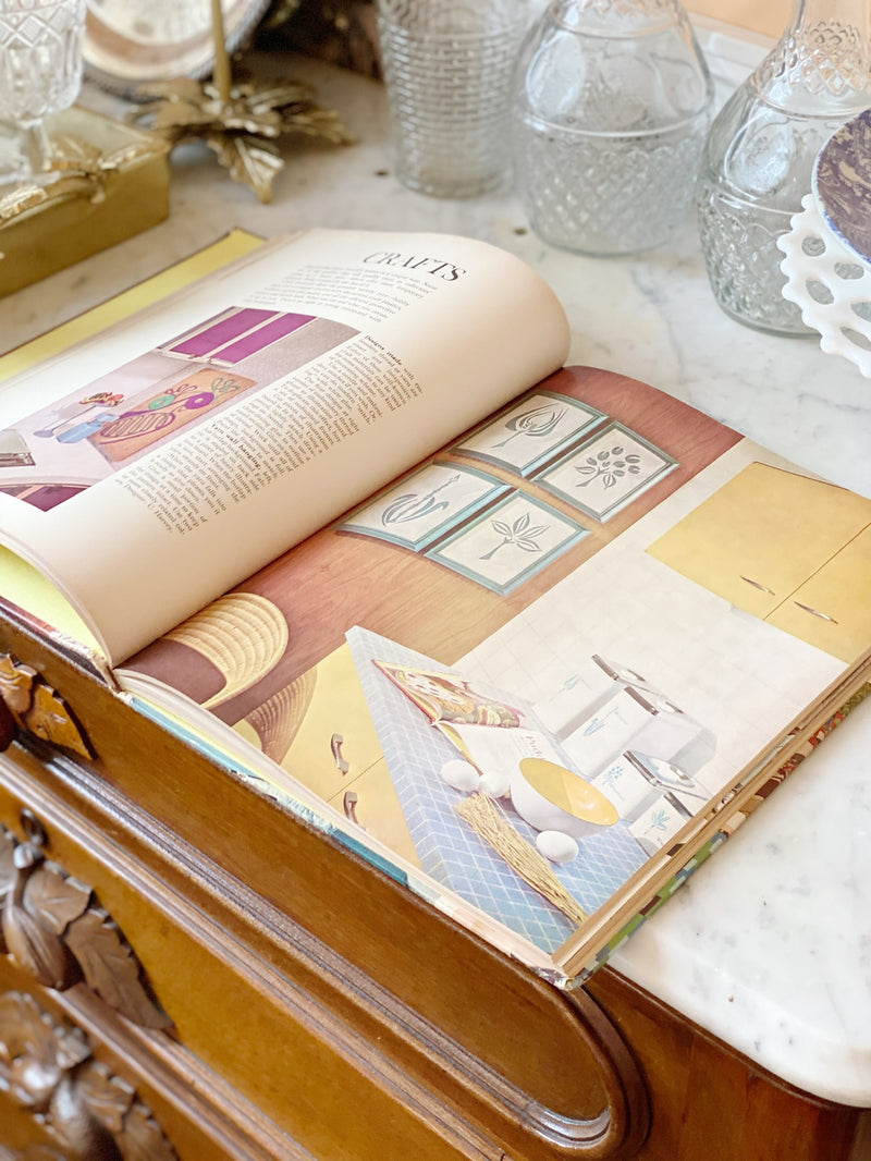 Vintage Crafting Book
